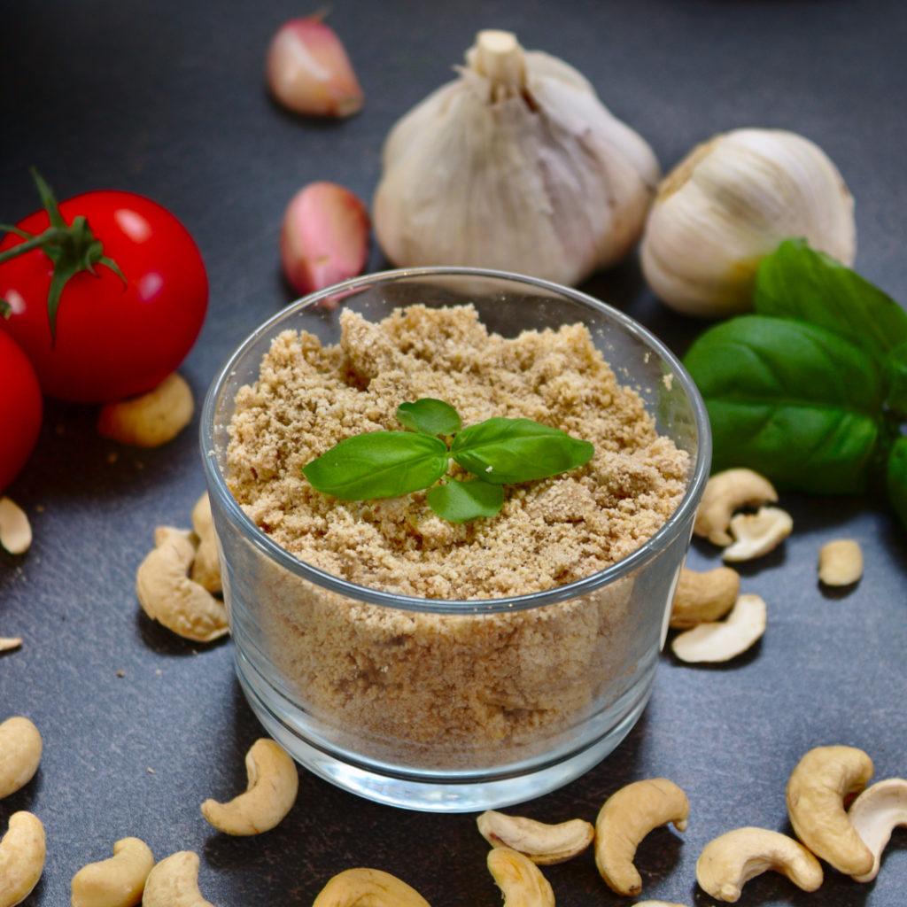 Parmesan aus Cashews