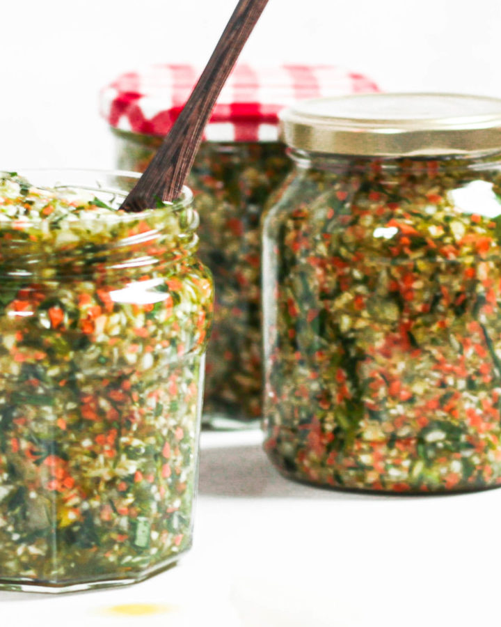 Selbstgemachte Gemüsebrühe Rezept