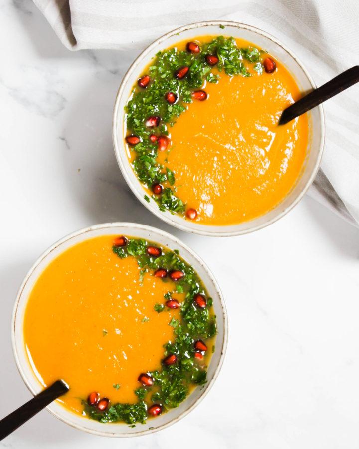 Rezept für eine Kürbissuppe