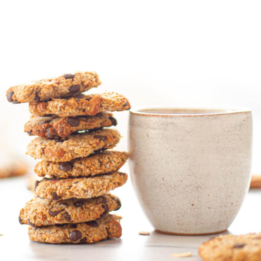 Rezeptbild zu den Gute Laune Hafercookies