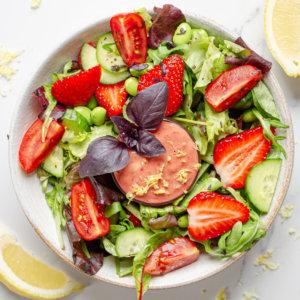 Erdbeersalat Rezeptbild