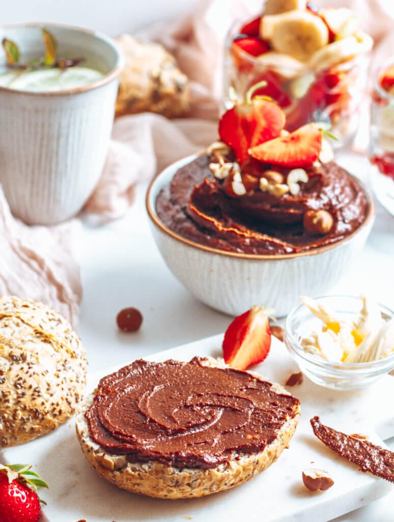 "Rezeptbild zum veganen ""Nutella"""